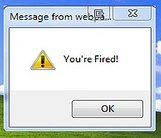 You're Fired Alert