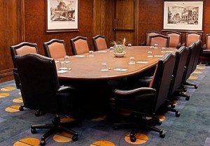 Board of Directors Boardroom Table