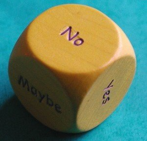 6 Sided Die of Indecision