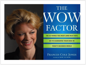 Frances Cole Jones and The Wow Factor