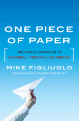 One Piece of Paper by Mike Figliuolo