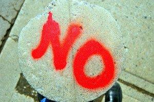 No Written in Spray Paint