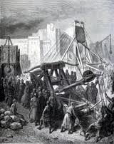 Catapult in a Siege