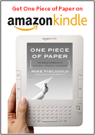 One Piece of Paper on Kindle