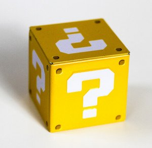 Question Marks on a Cube