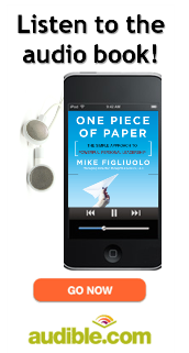 Get the audiobook of One Piece of Paper from Audible.com