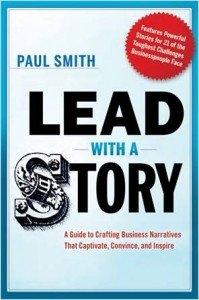 Lead with a Story Book Cover