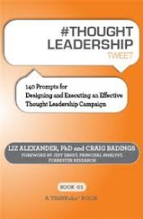 Thought Leadership Tweet by Dr. Liz Alexander
