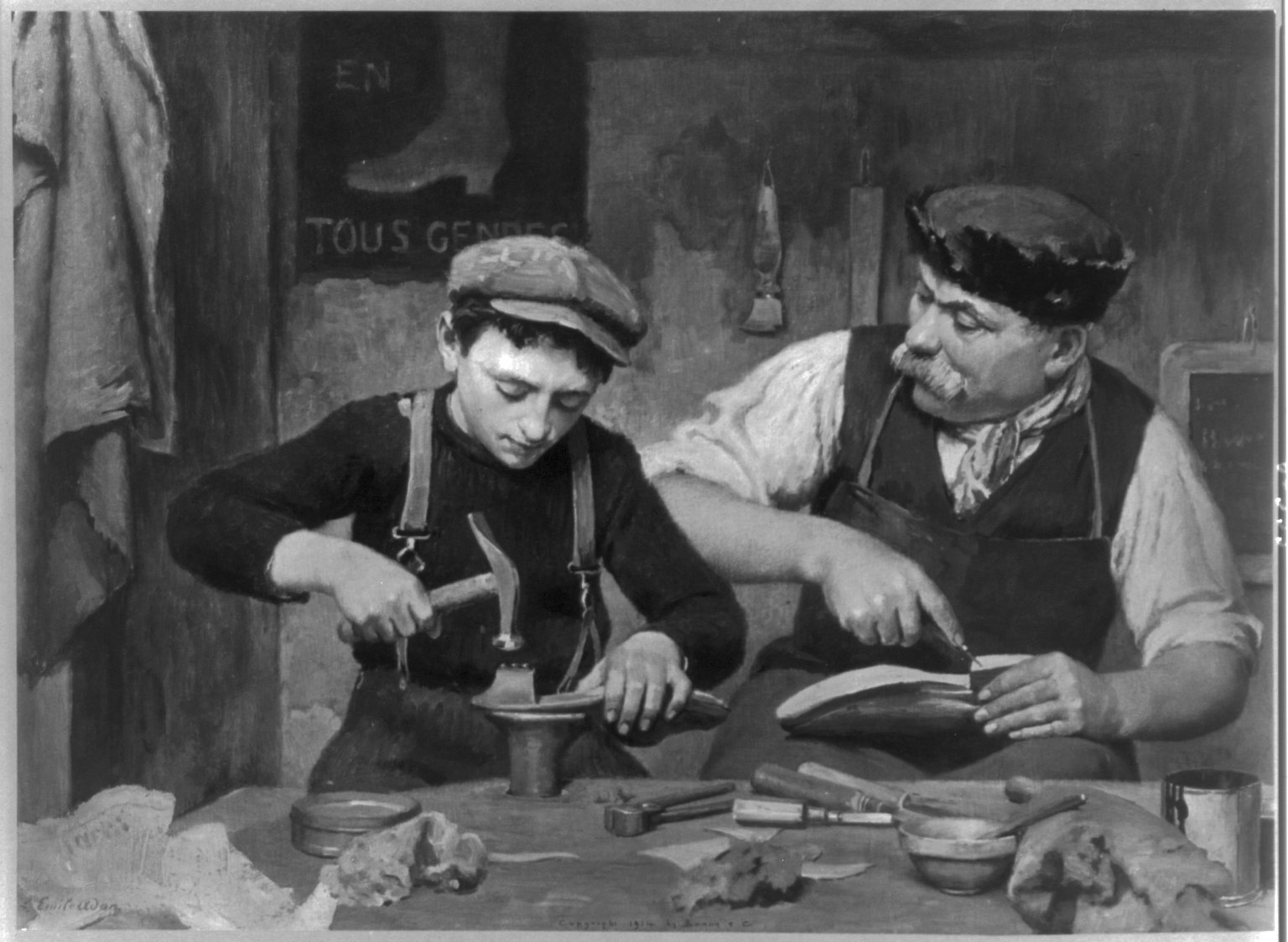 Cobbler and Apprentice