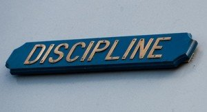 Word Discipline on Sign