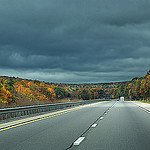 Highway in Autumn