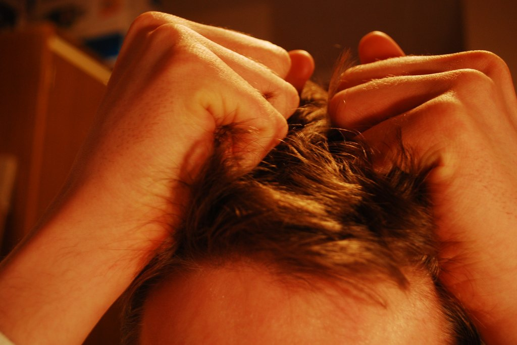 Pulling Hair Because of Stress