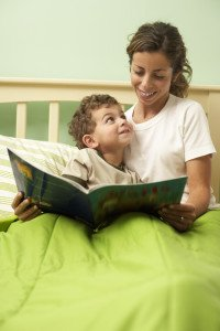 Mother Reading a Storybook