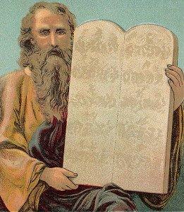 Moses and the Ten Commandments