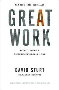 Great Work by David Sturt