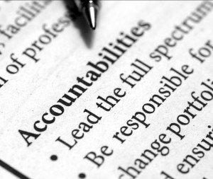 Accountabilities Definition