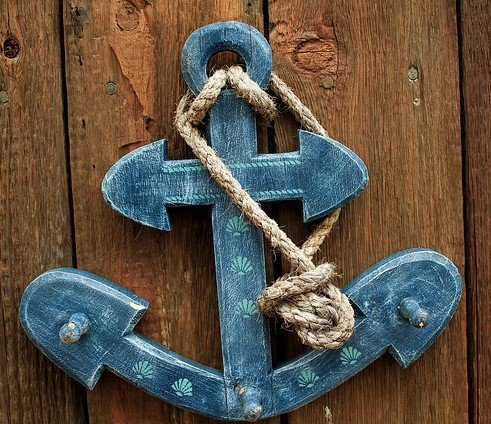 Anchor with Rope (2)