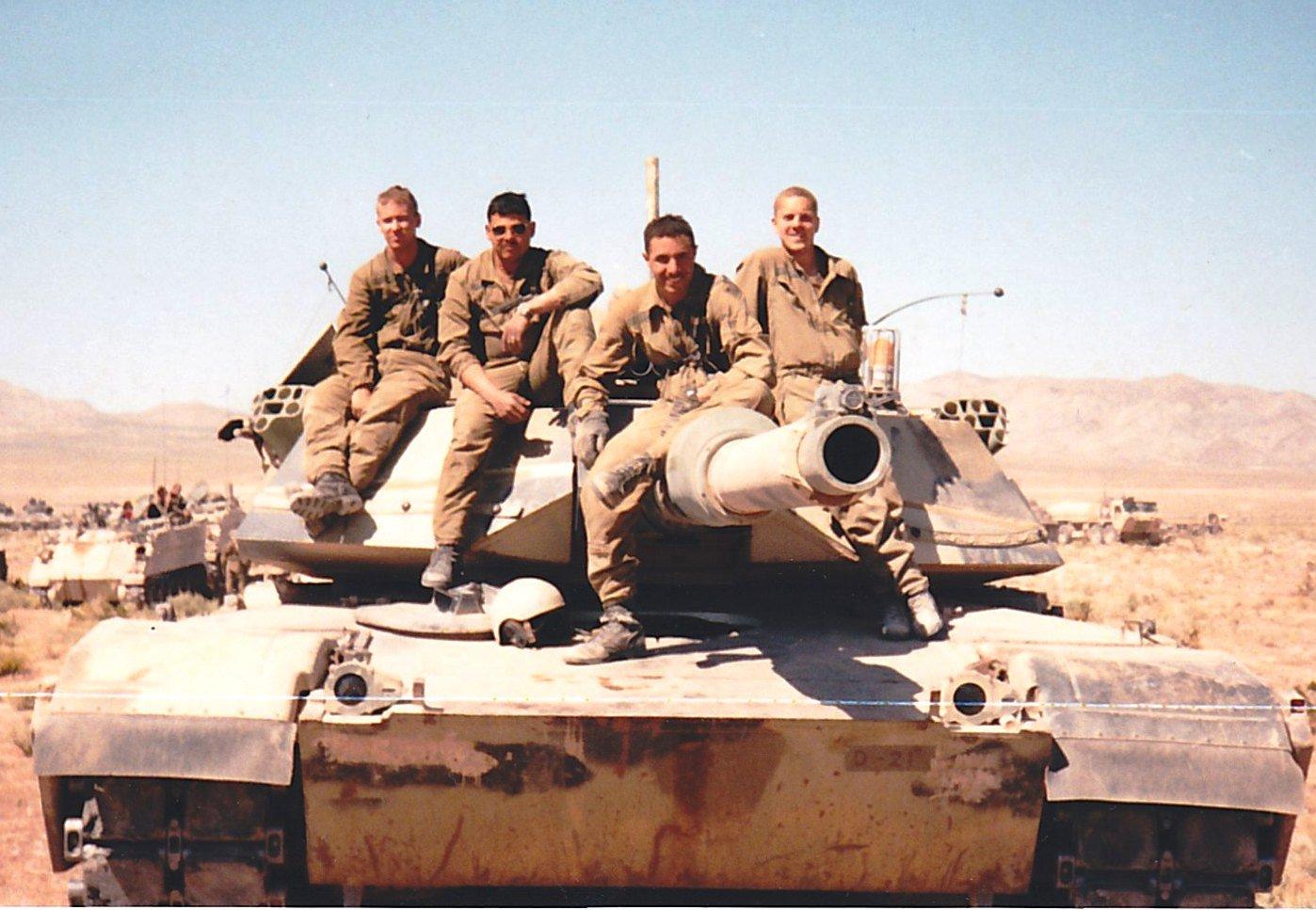 Mike Figliuolo and His Tank Crew