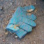 Glove on the Ground