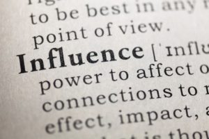 Definition of the Word Influence