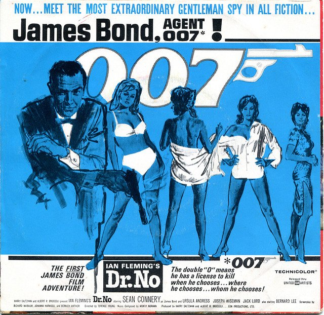 James Bond Doctor No Poster