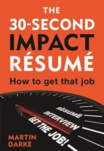 The 30 Second Impact Resume