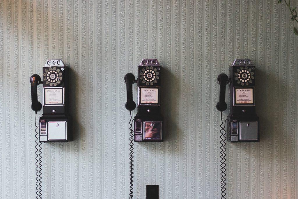 20191111 Old Phone Communication